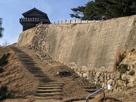 西門と高石垣