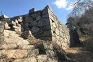 東郭の枡形石垣と階段…