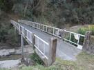 則定川にかかる橋…