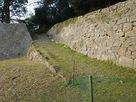 代右衛門丸下の石垣…