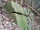 大手門跡付近の石垣…