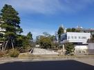 三ノ丸跡の芦城公園…