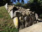西曲輪 石垣