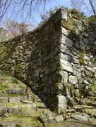 桑實寺の石垣