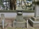 藩祖 真次公の墓…