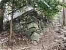 石垣(奥殿藩藩主廟所)…