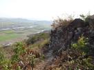 高石垣からの眺め…