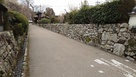 穴太積み石垣の道…