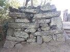 西三の丸門西側石垣