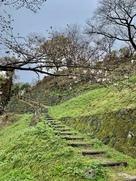 本丸への登り道…