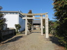 城跡(白鬚神社)…