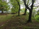 本丸多門櫓跡の先に小天守跡…
