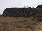 有子山城石垣