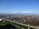 城址から眺望