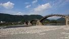 錦帯橋と岩国城…