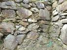 御主殿の石垣