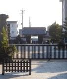 大樹寺から見た岡崎城…