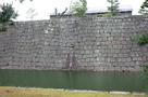 本丸石垣にある石樋…