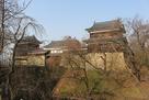 北櫓、東虎口櫓門、南櫓、南櫓