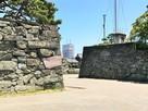 黒門跡と鷲の門