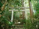 飯田線側の城内入り口の鳥居