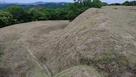 木山城 曲輪と横堀…