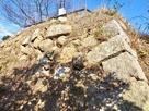 西の丸西側石垣…