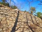 三の丸南側の石垣…
