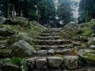 七尾城石段