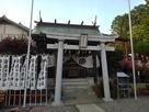 松の丸坤櫓のあったあたりにある猿田彦神社