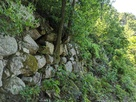 15の曲輪北側の石垣…