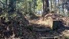 政岡の墓のある郭入り口…