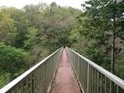 鈴岡城との間を結ぶ水道橋…