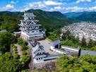 ドローンで空撮した岐阜県の郡上城の風景…