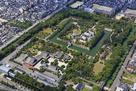 京都二条城上空俯瞰…