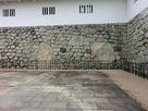 枡形石垣の鏡石…