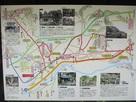ウォーキングマップ(山家神社駐車場)…