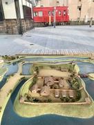 勝幡城推定復元模型…