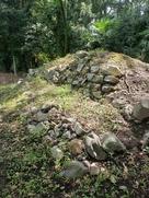 旧二条城の石垣…