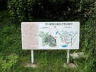 城址概略図