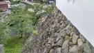 多聞櫓から石垣