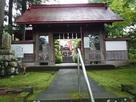 長久寺に移築された二の丸南門…
