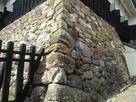 隅から攻める天守閣の石垣…