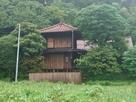 移築された白河小峰城の太鼓櫓