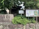 城跡碑と案内板…