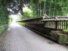 「鷹見泉石記念館」脇の通り…