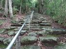 観音寺への修練の道…