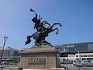 島津義弘公銅像…