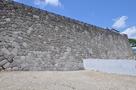 修復なった、本丸南面石垣 2015,6,…