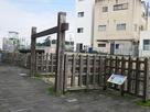 唐人門跡と外堀…